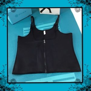 BLITZMODA WAIST SHAPER BLACK THREE ROW HOOKS 4XL